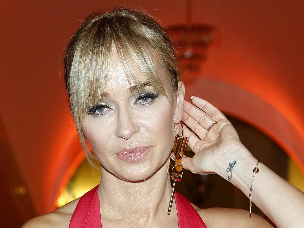 Joanna Przetakiewicz na imprezie Flesz Fashion Night