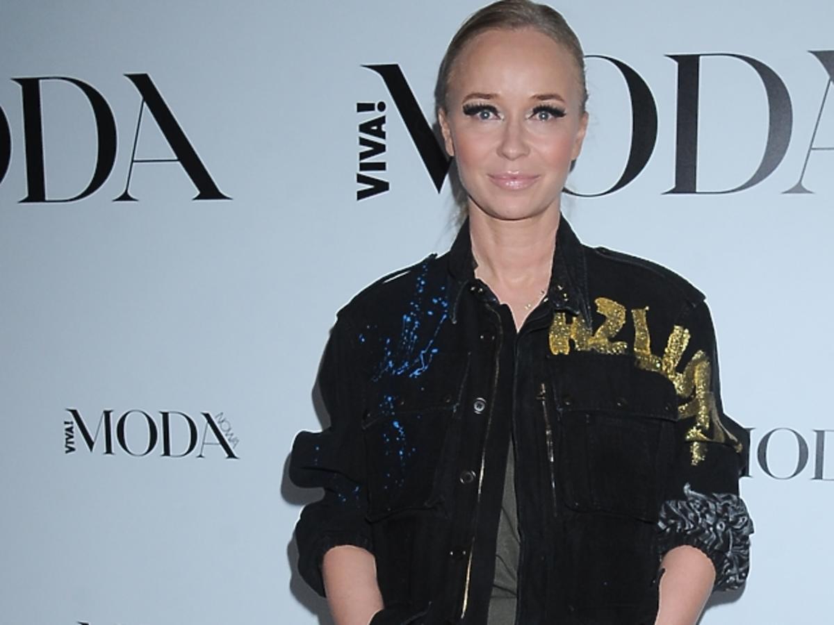 Joanna Przetakiewicz na imprezie magazynu VIVA! MODA