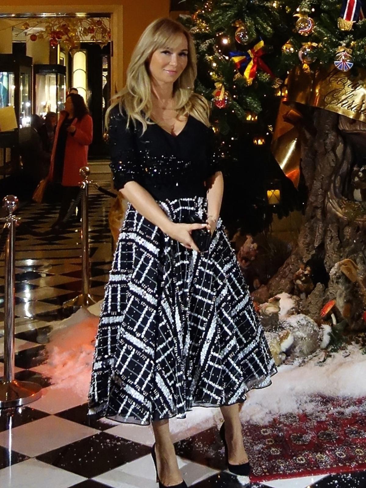 Joanna Przetakiewicz na imprezie z Kylie