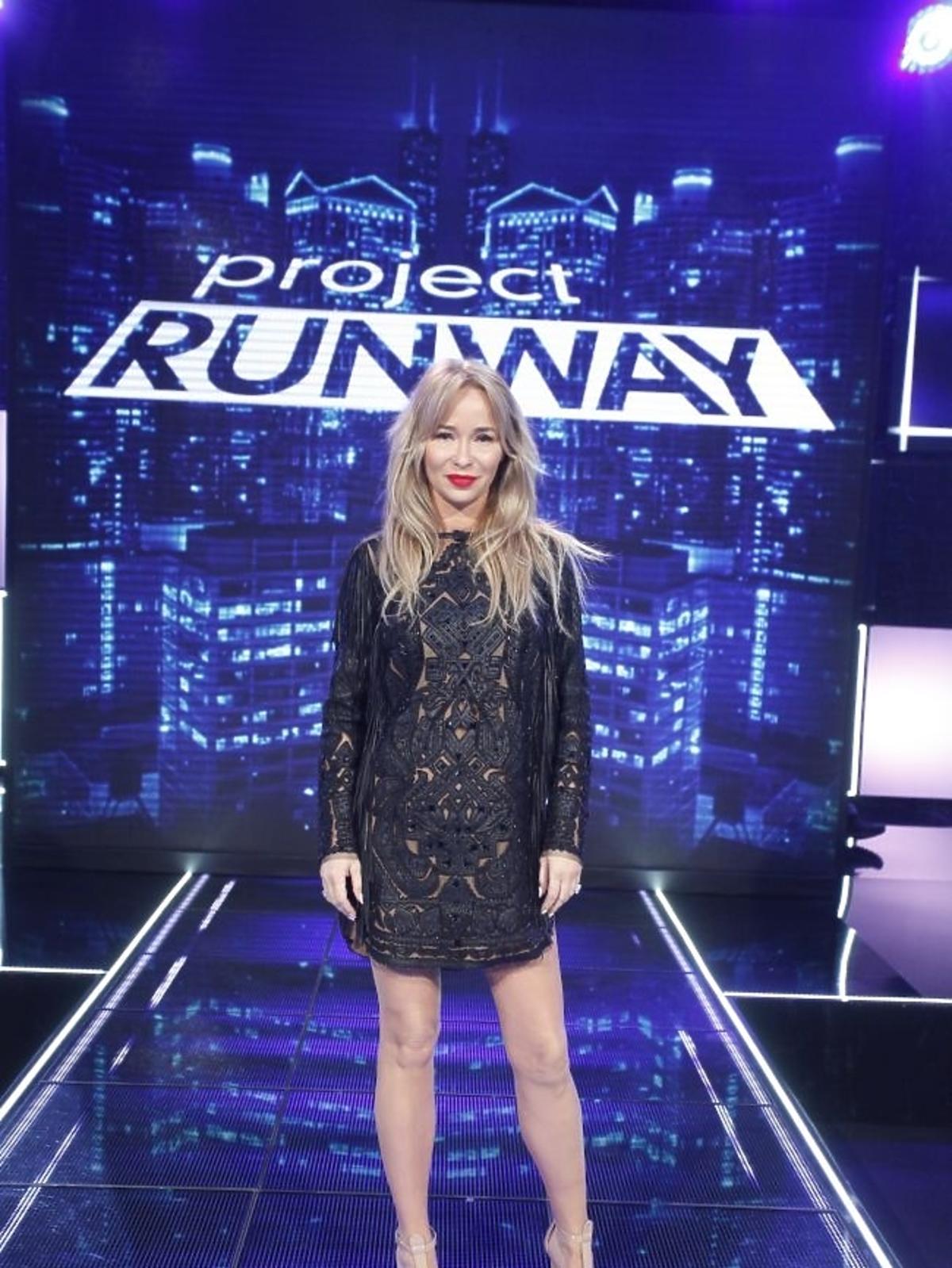 Joanna Przetakiewicz na planie Project Runway