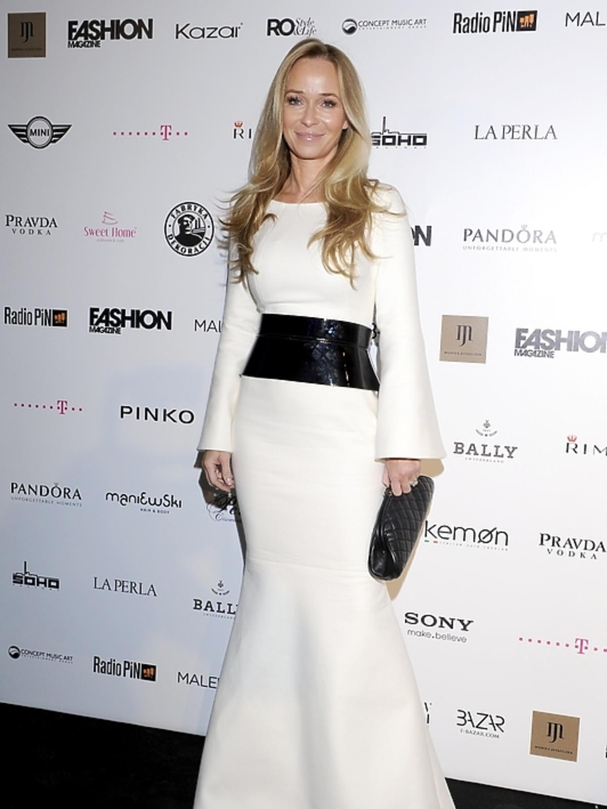 Joanna Przetakiewicz na rozdaniu nagród Fashion Magazine