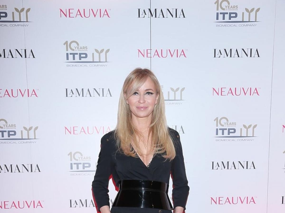 Joanna Przetakiewicz w spodniach