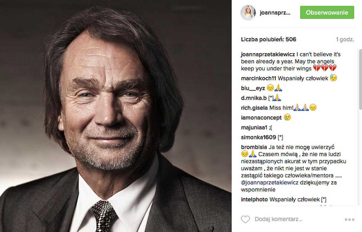 Joanna Przetakiewicz wspomina Jana Kulczyka