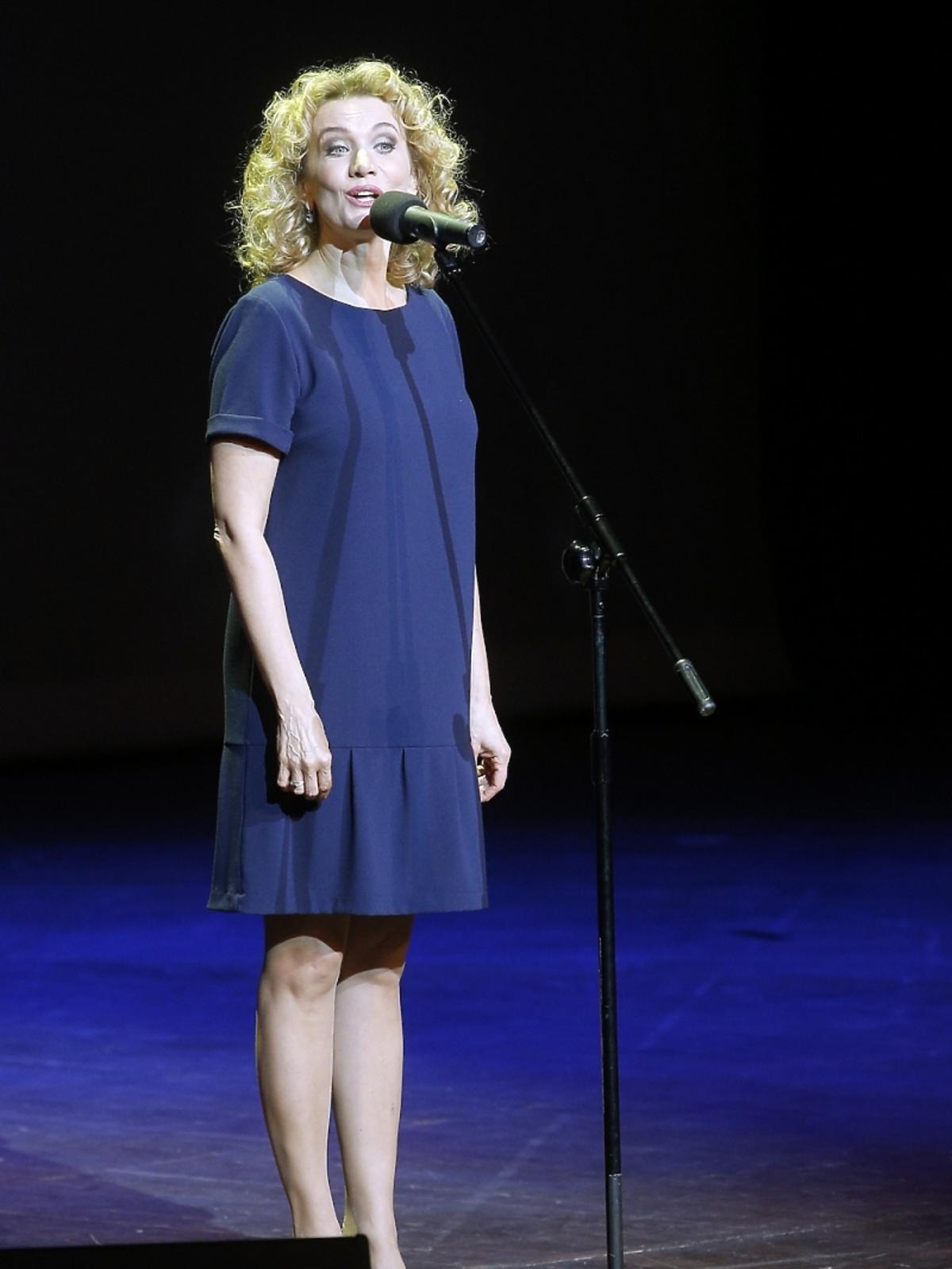 Joanna Trzepiecińska na koncercie