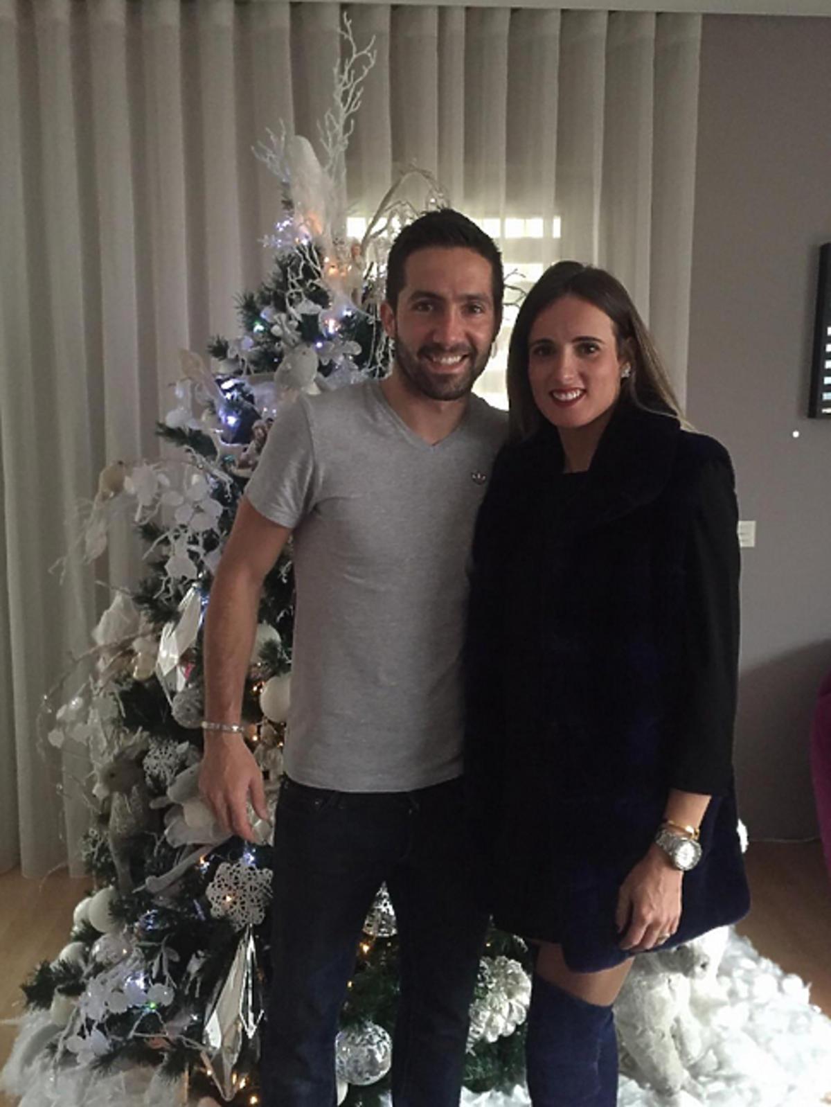 Joao Moutinho z partnerką - Aną Sofia Gomez