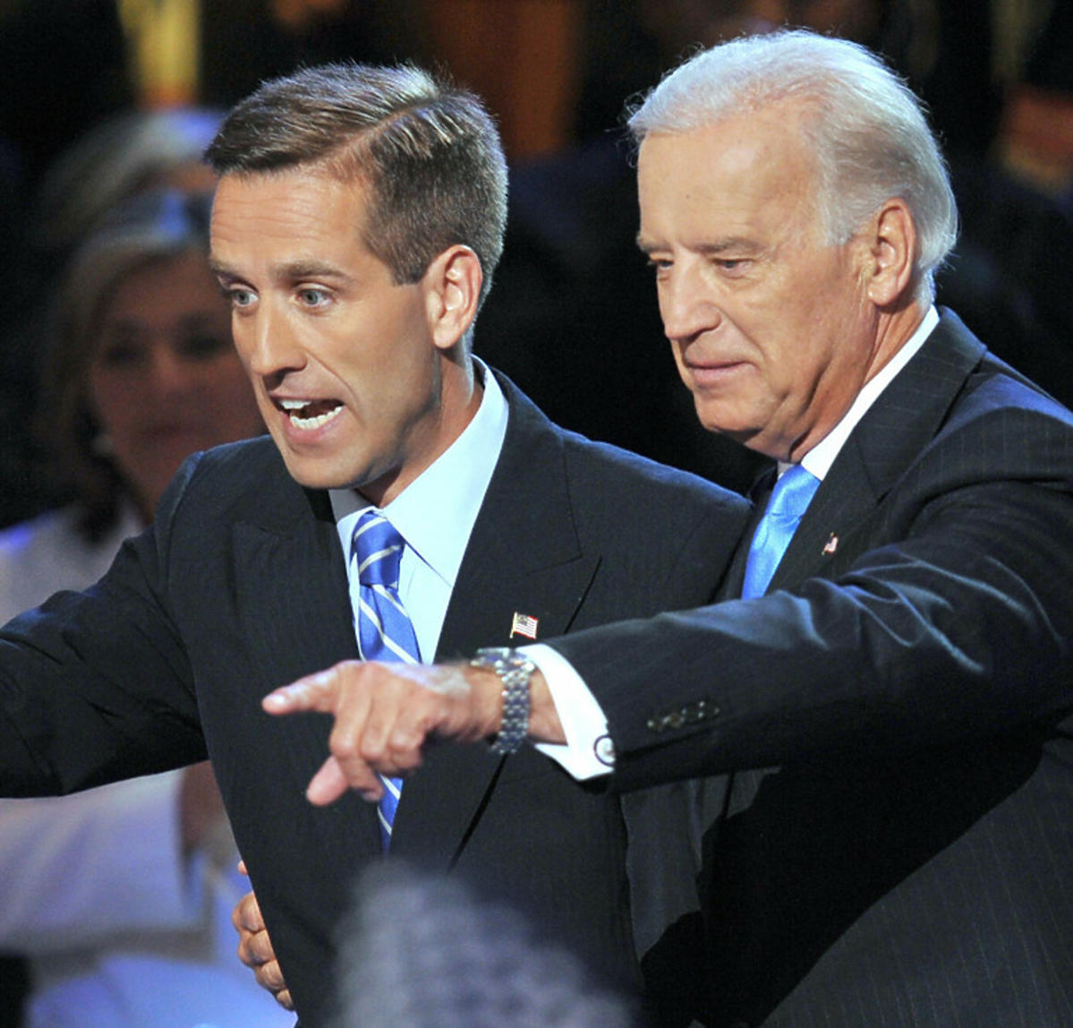Joe Biden z synem, Beau
