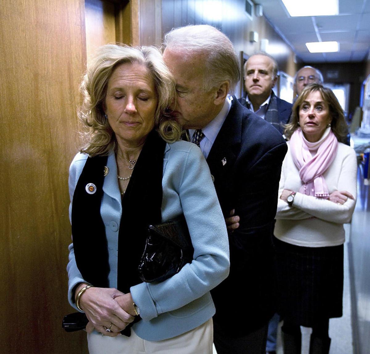 Joe Biden z żoną
