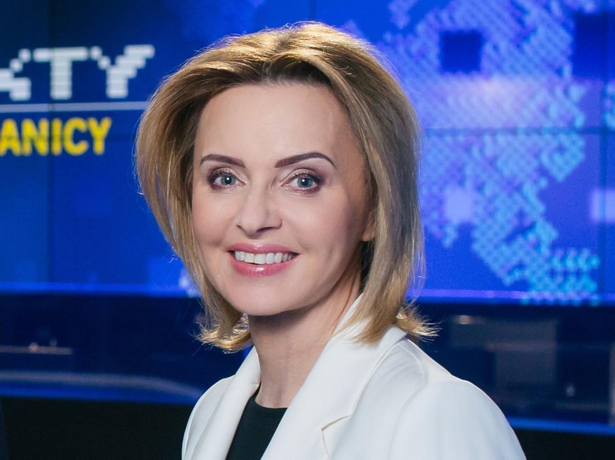 Jolanta Pieńkowska - materiały promocyjne TVN 24 BIS