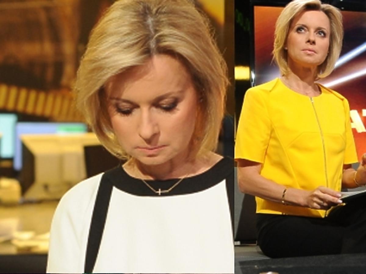 """Jolanta Pieńkowska w programie """"Świat"""" na TVN24"""