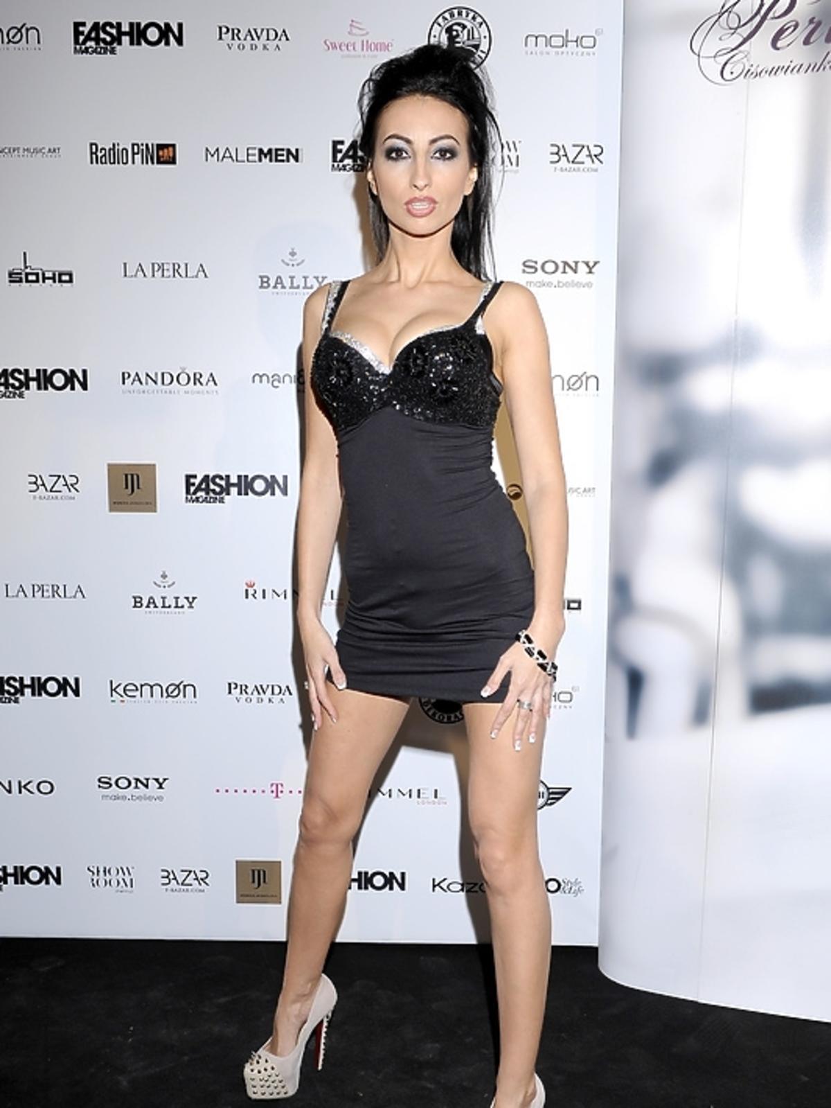Jolanta Rutowicz na rozdaniu nagród Fashion Magazine