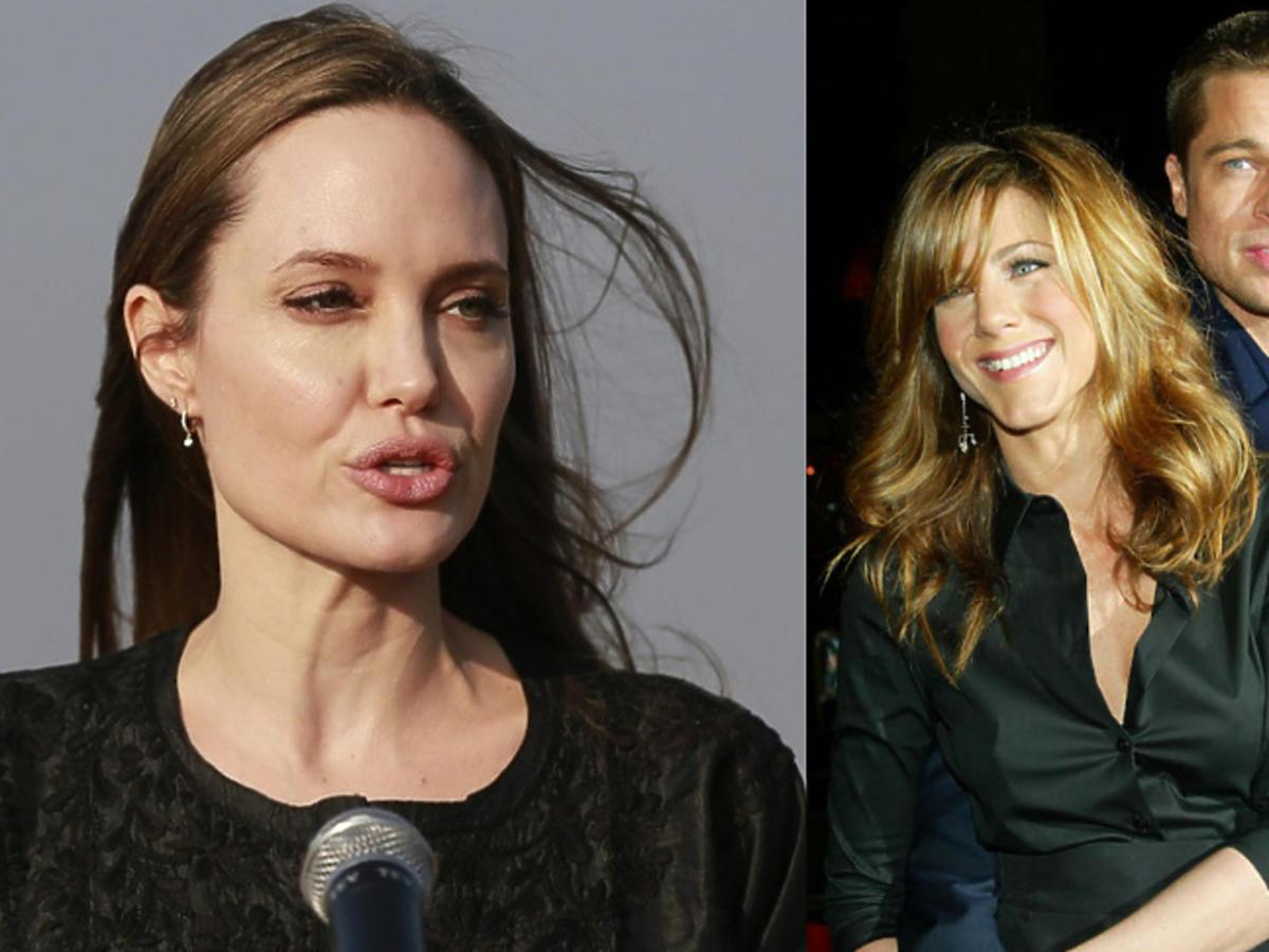 Jolie wściekła na Brada i aniston
