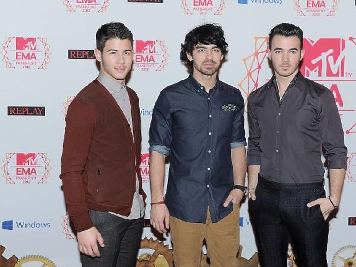 Jonas Brothers na gali MTV EMA 2012
