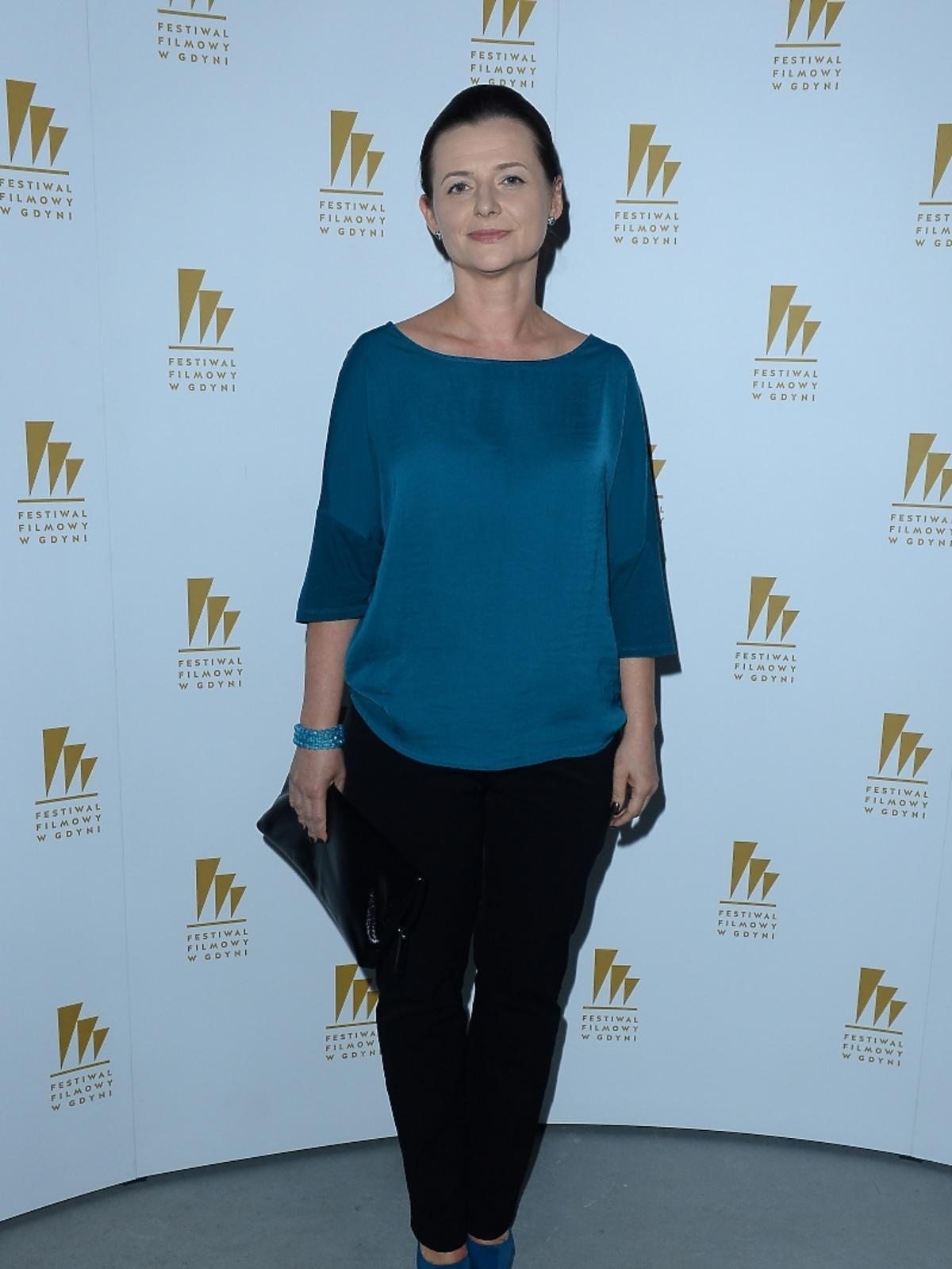 Jowita Budnik na 39 Festiwalu Filmowym w Gdyni 2014