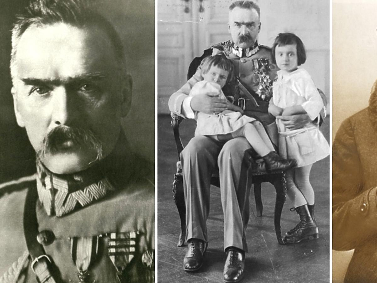 Józef Piłsudski na trzech fotografiach