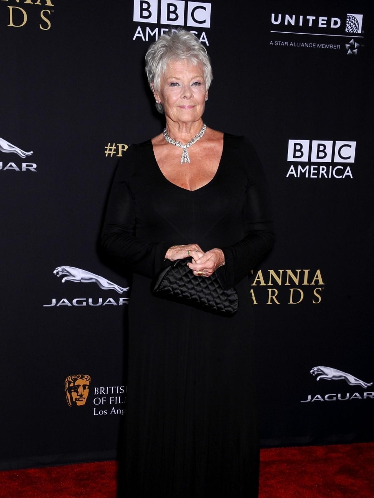 Judi Dench na rozdaniu nagród BAFTA 2014