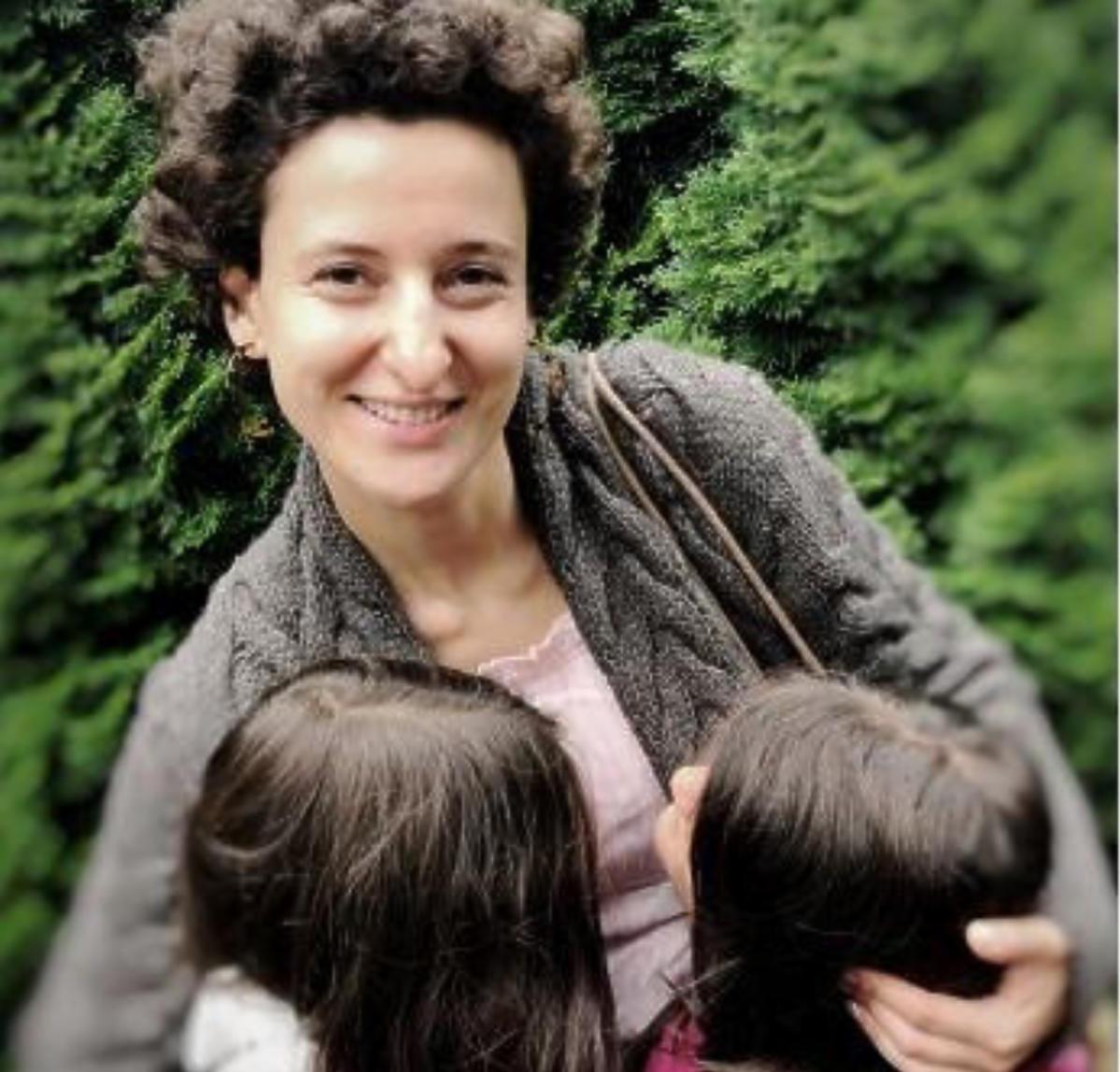 Judyta Turan z córkami