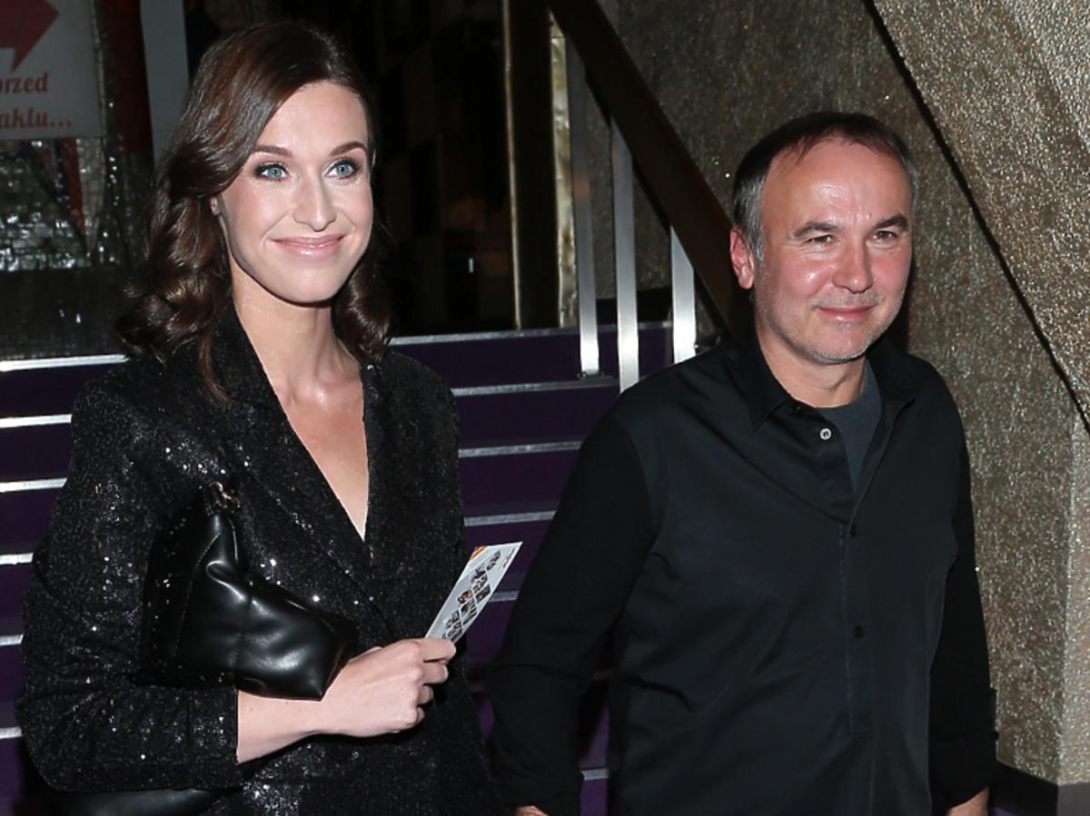 Julia Kamińska w czarnej sukience