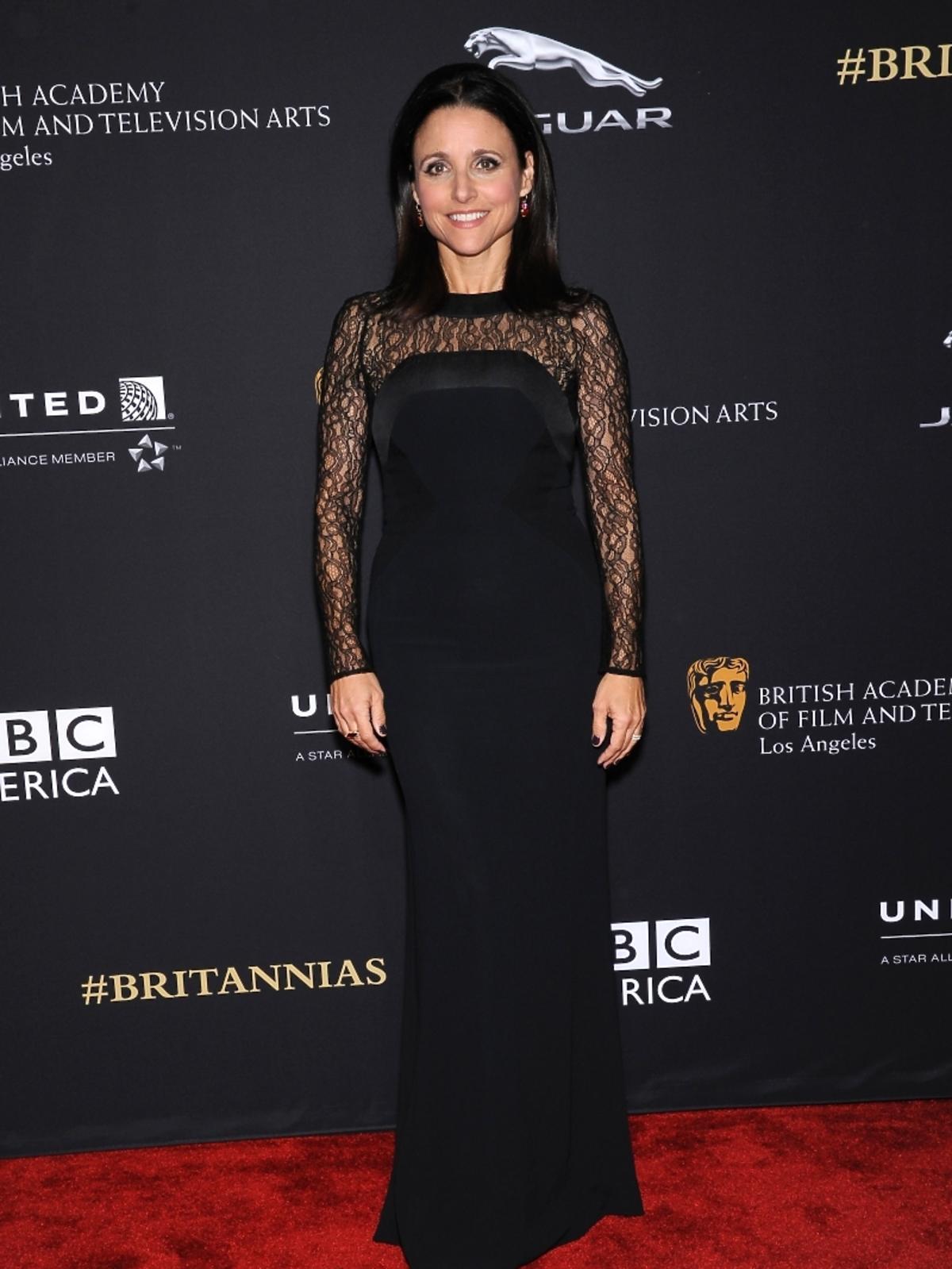 Julia Louis Dreyfus na rozdaniu nagród BAFTA