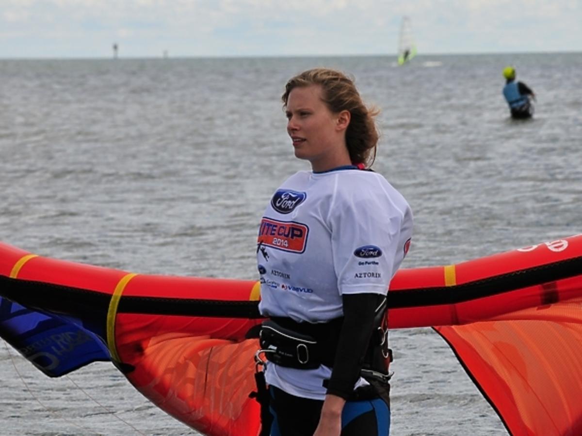 Julia Pietrucha na Ford Cup Kite 2014 w Rewie