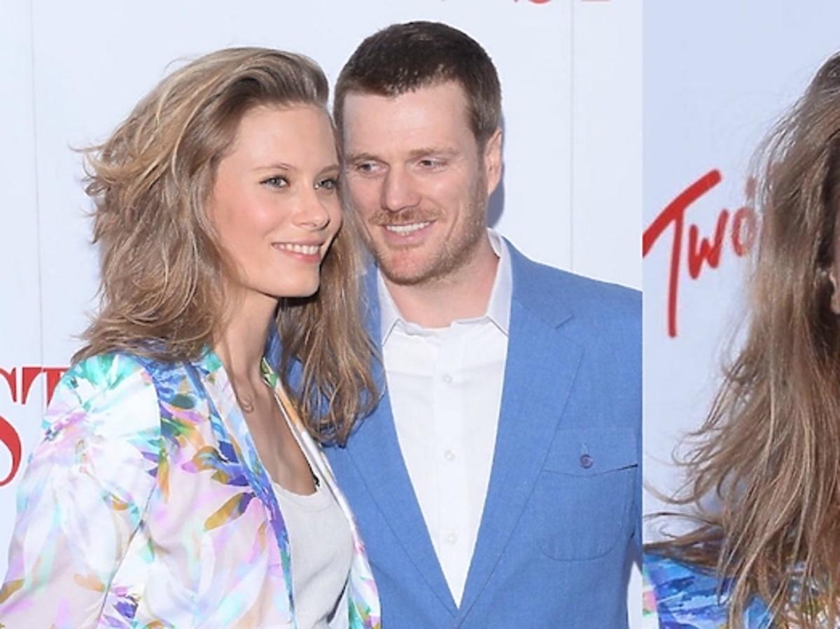 Julia Pietrucha z mężem na gali Kobieta Roku