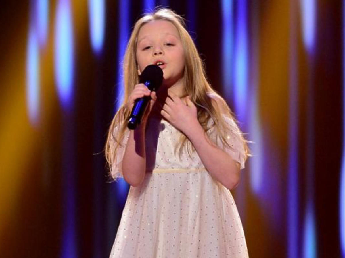Julia Totoszko w The Voice Kids 3