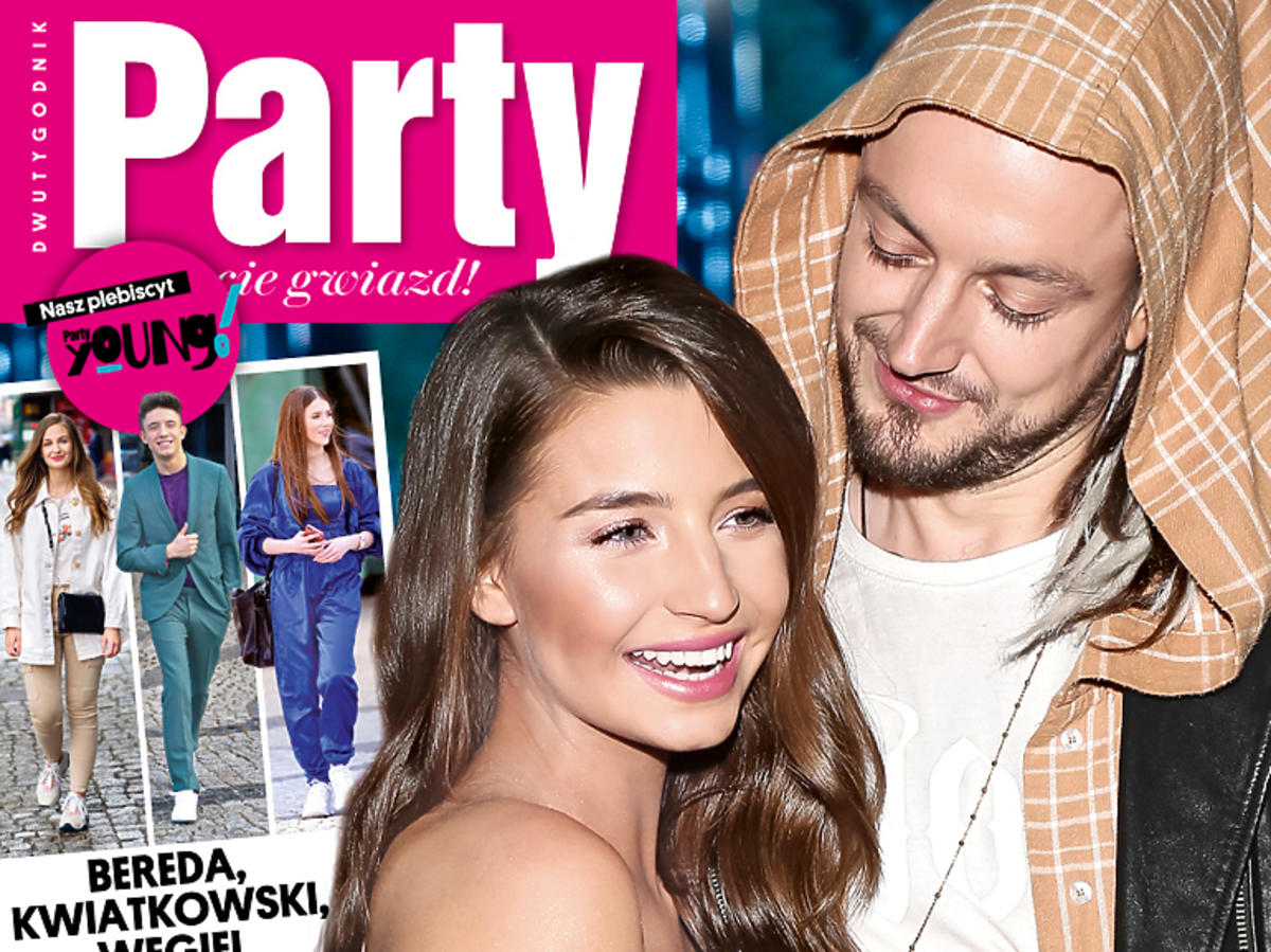 Julia Wieniawa i Baron na okładce Party