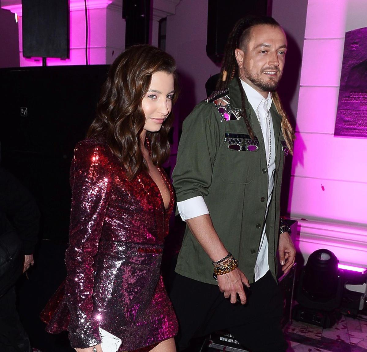 Julia Wieniawa i Baron razem