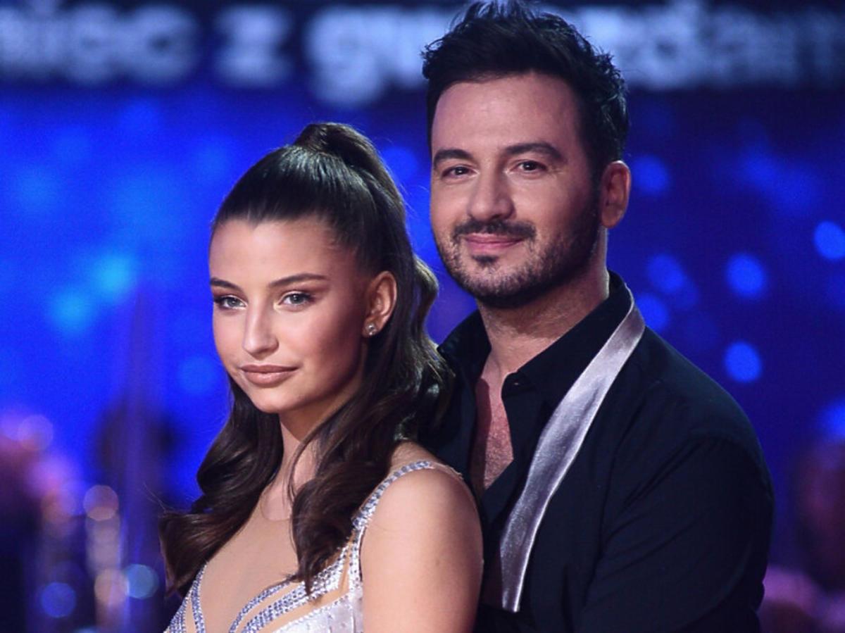 """Julia Wieniawa i Stefano Terrazzino na planie """"Tańca z Gwiazdami"""""""