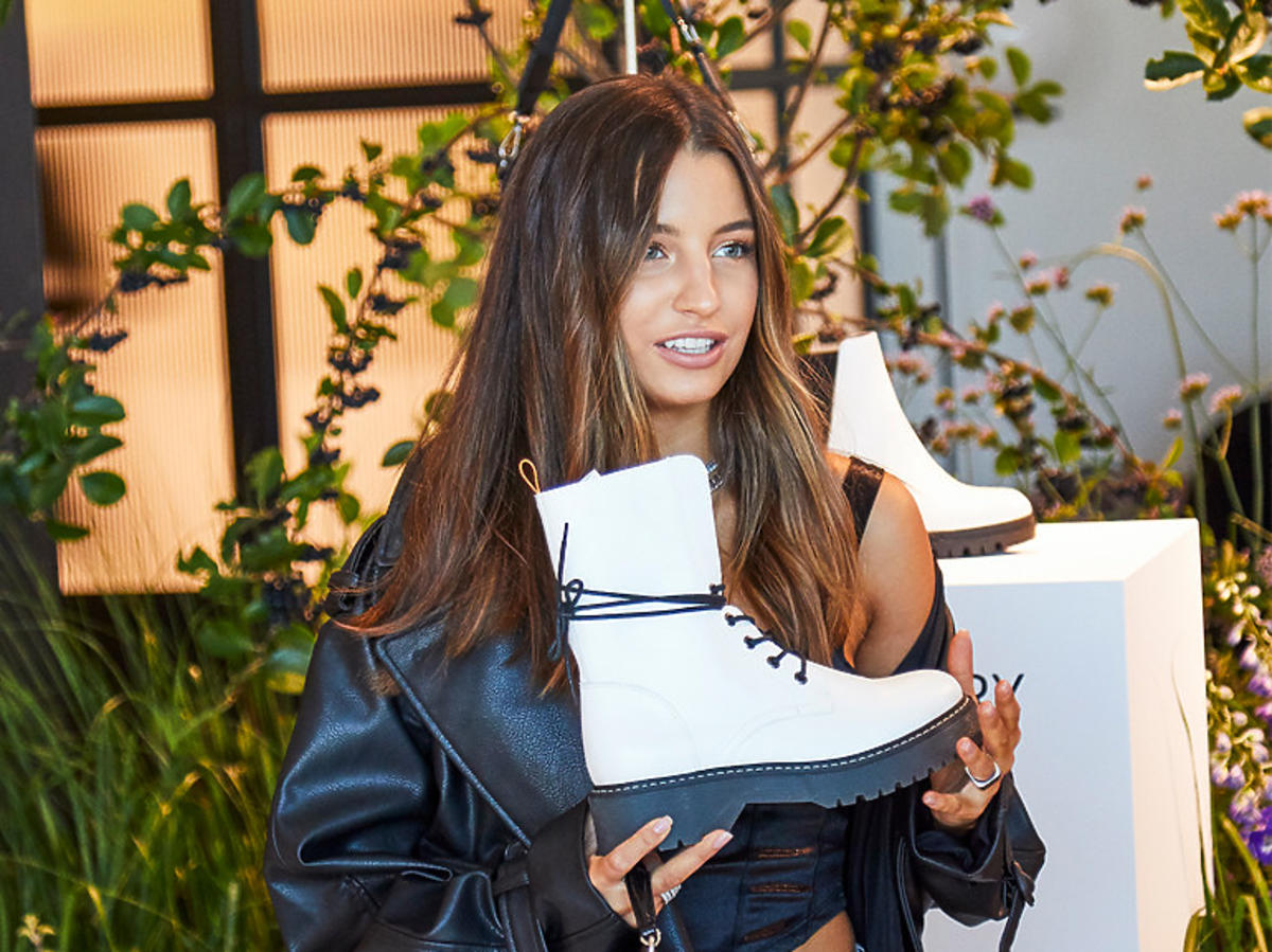 Julia Wieniawa, Jessica Mercedes i inne gwiazdy na prezentacji kolekcji butów na jesień CCC