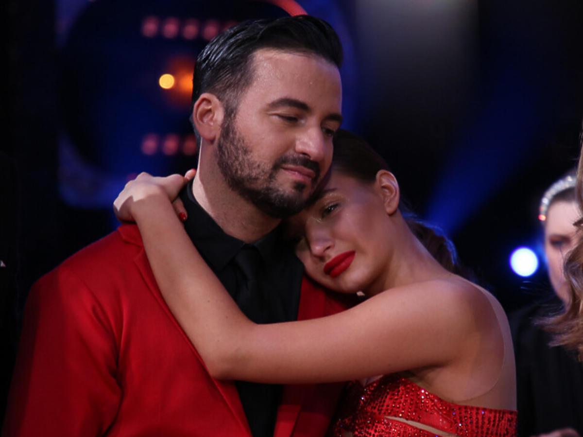 Julia Wieniawa płacze na planie Tańca z Gwiazdami