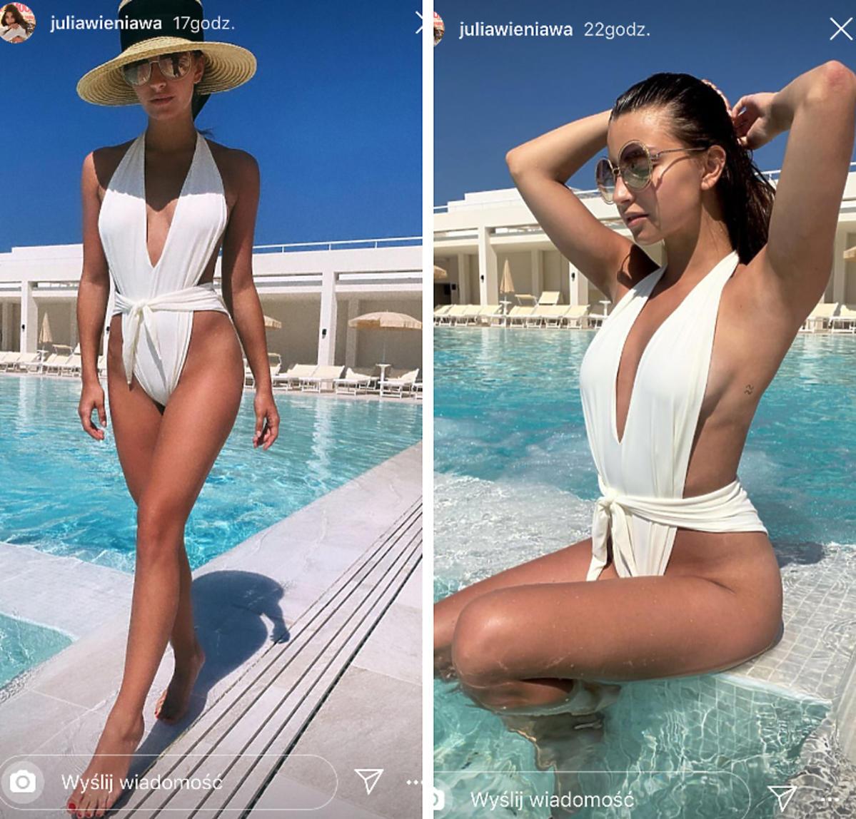Julia Wieniawa w bikini