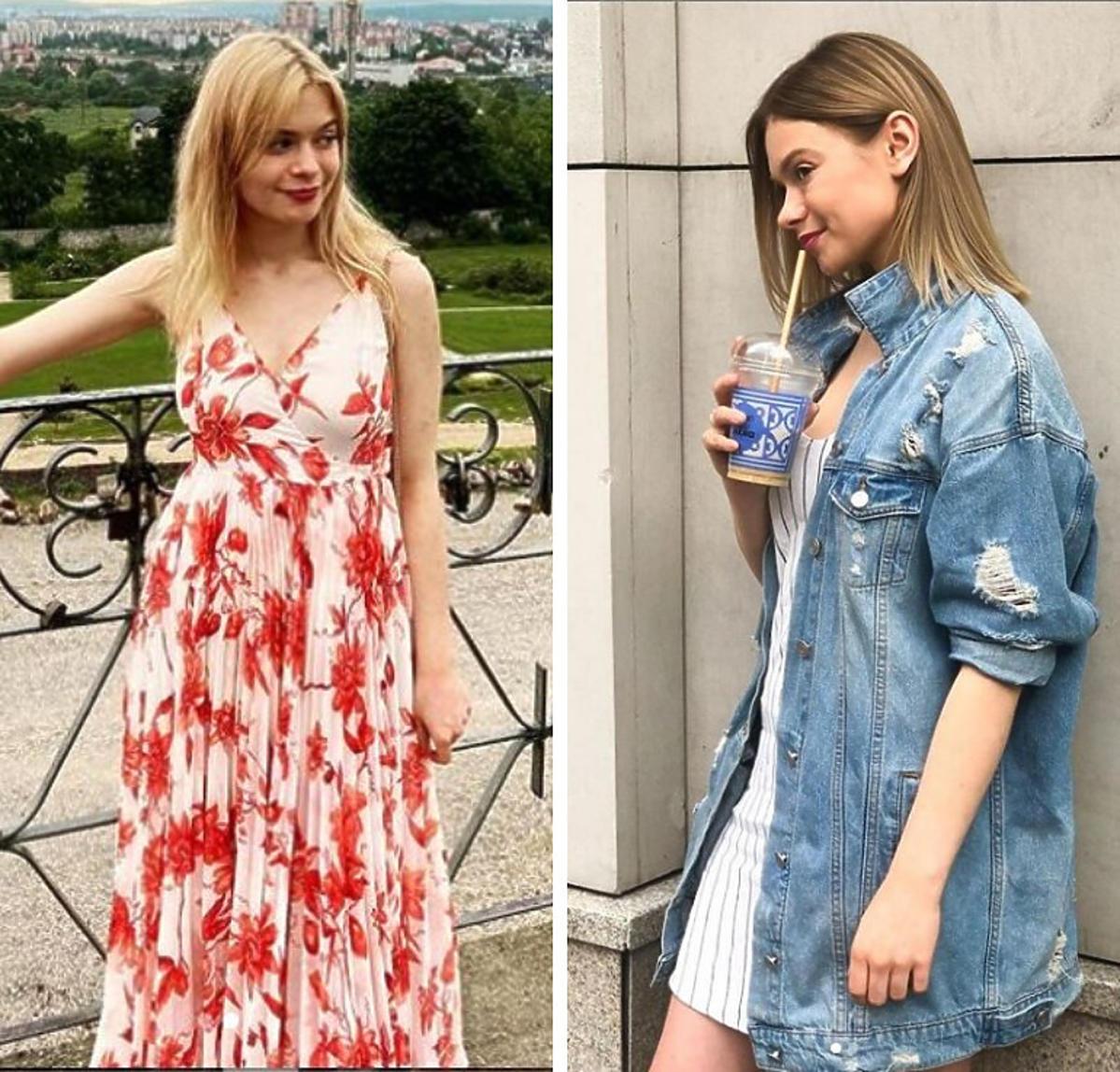 Julia Wróblewska przed i po metamorfozie