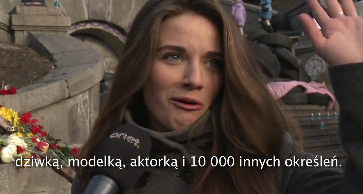 Julia z Majdanu. Ukrainka z hitu sieci