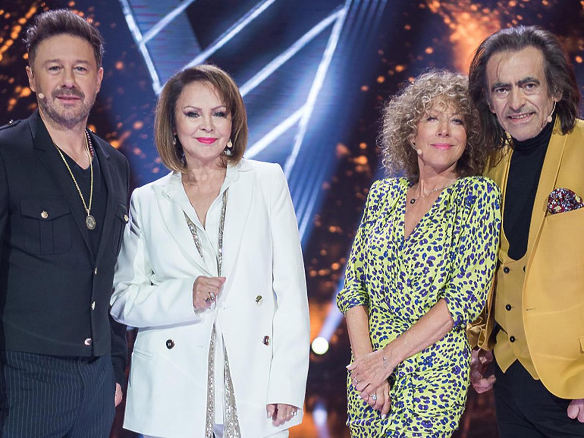 Jurorzy Voice Senior - Andrzej Piaseczny, Izabela Trojanowska, Alicja Majewska i Witold Paszt