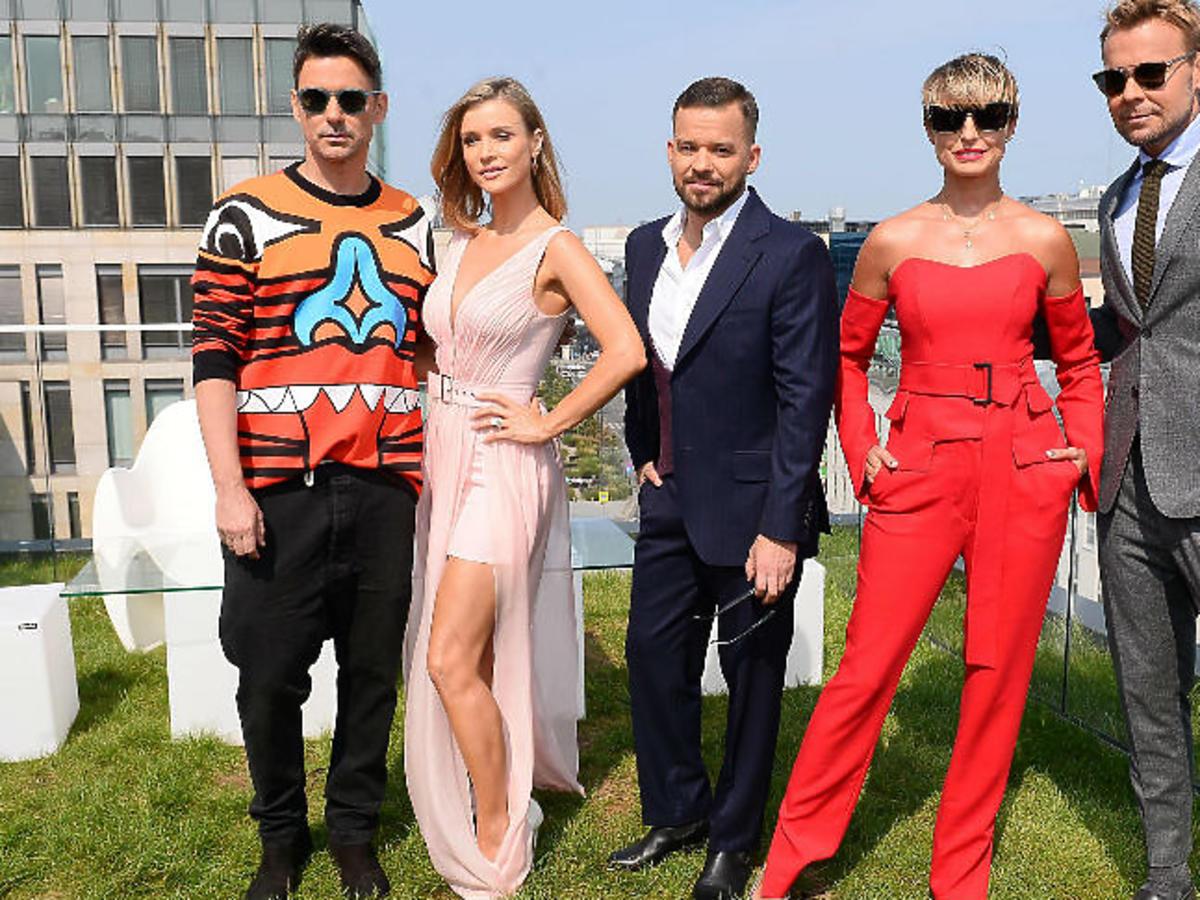 Jury Top Model: Krupa, Woliński, Tyszka, Sokołowska, Piróg