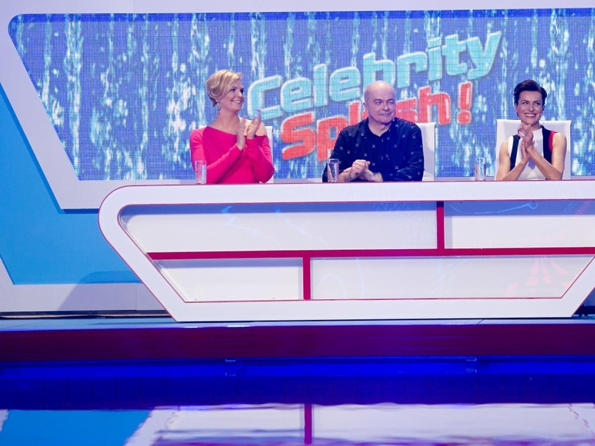 Jury w pierwszym odcinku Celebrity Splash