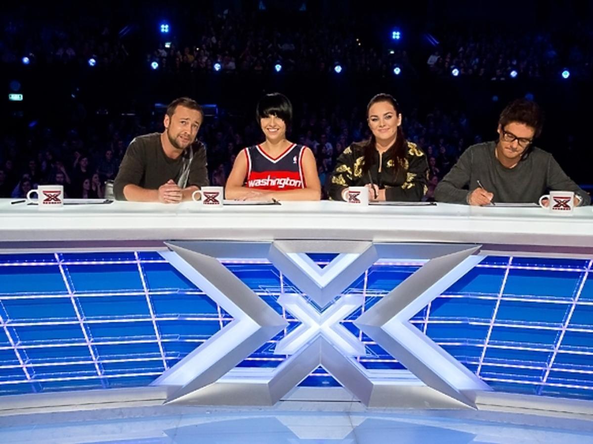 Jury X-Factor na castingu