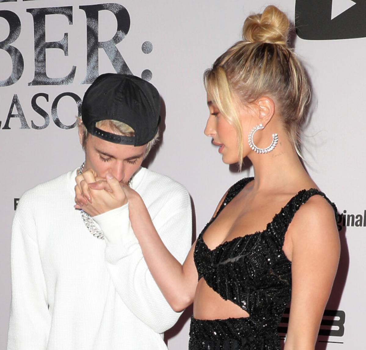 Justin Bieber i Hailey Bieber razem na premierze dokumentu