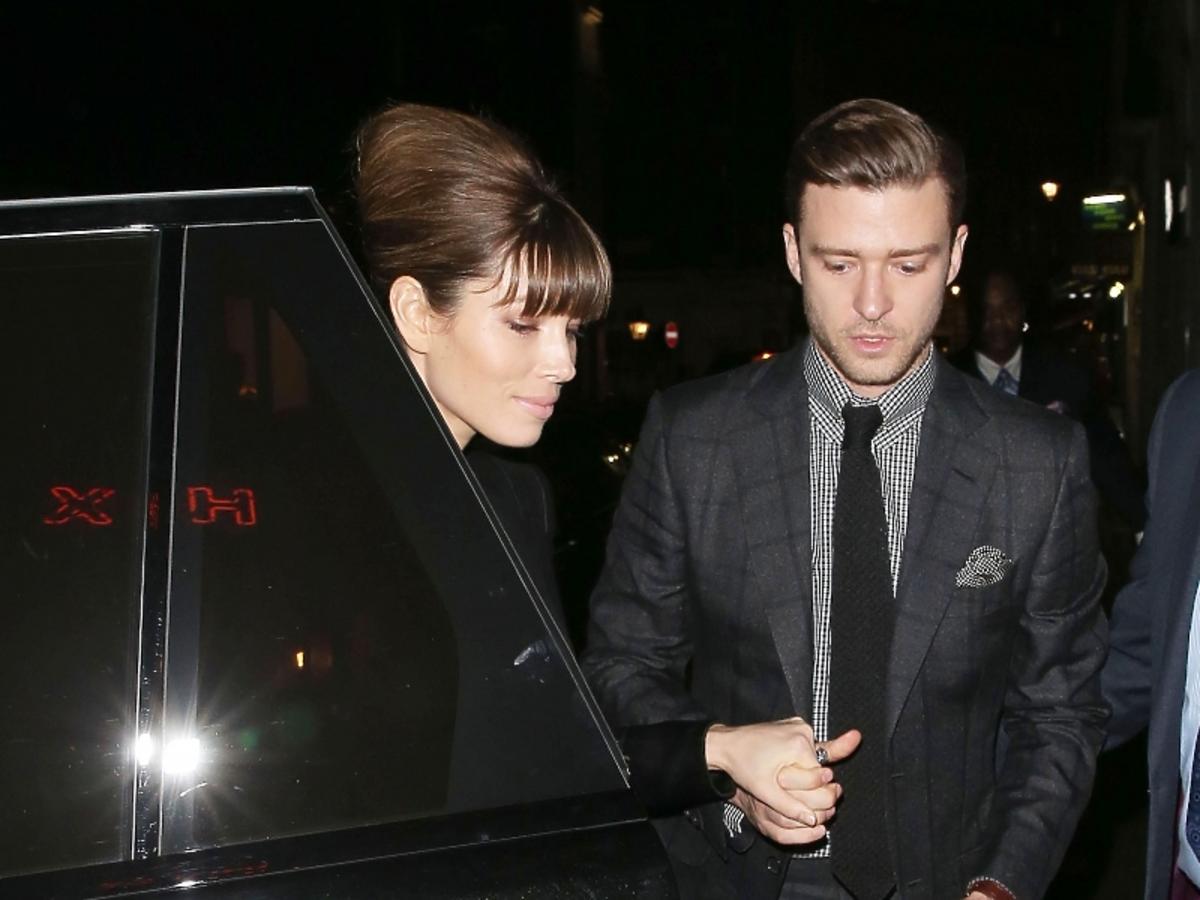 Justin Timberlake i Jessica Biel idą na romantyczną kolację