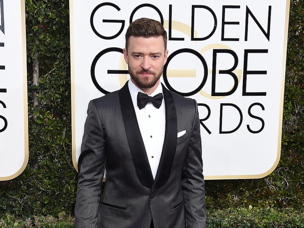 Justin Timberlake na rozdaniu Złotych Globów 2017