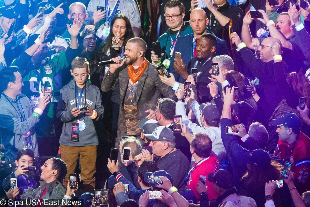 Justin Timberlake na SuperBowl 2018