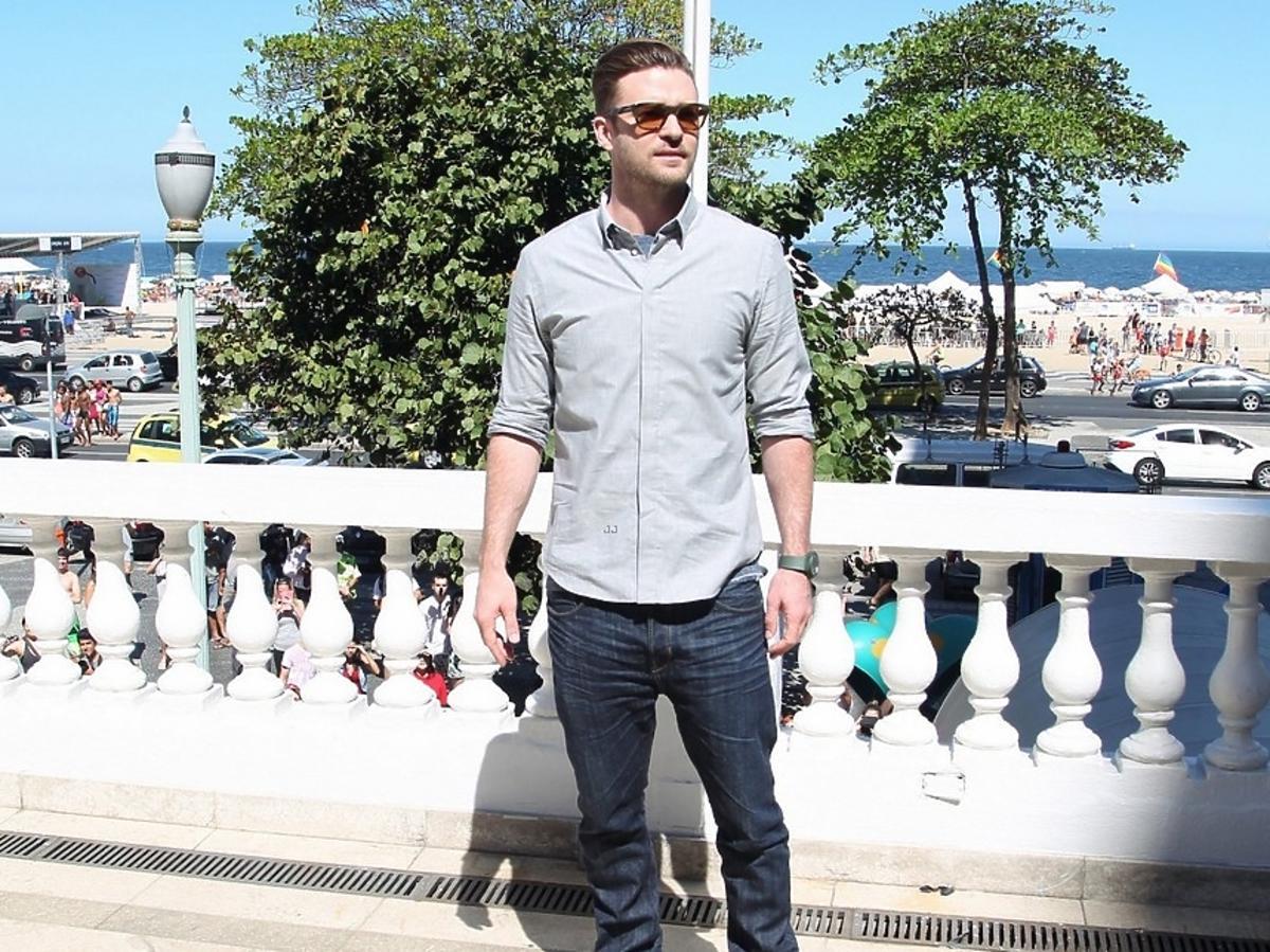 Justin Timberlake w Brazylii