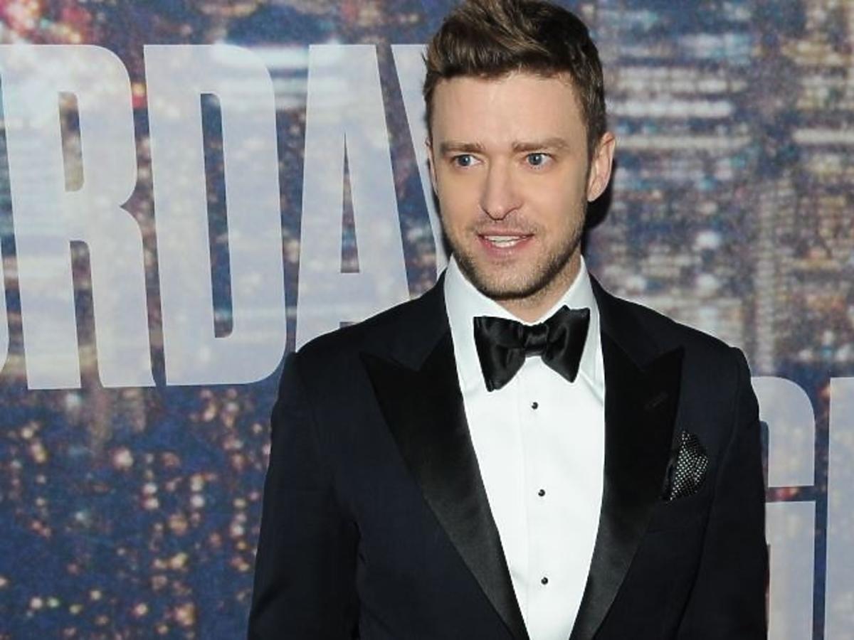 Justin Timberlake w marynarce