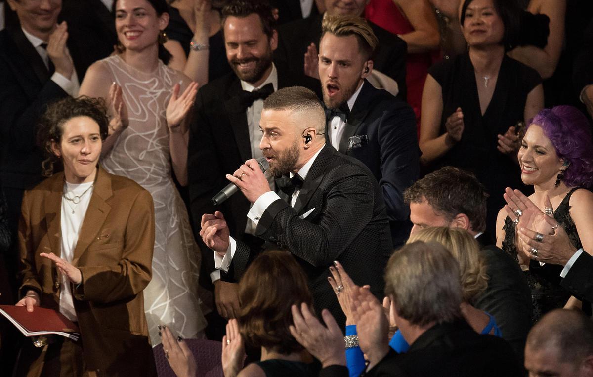 Justin Timberlake zachwycił na gali rozdania Oscarów