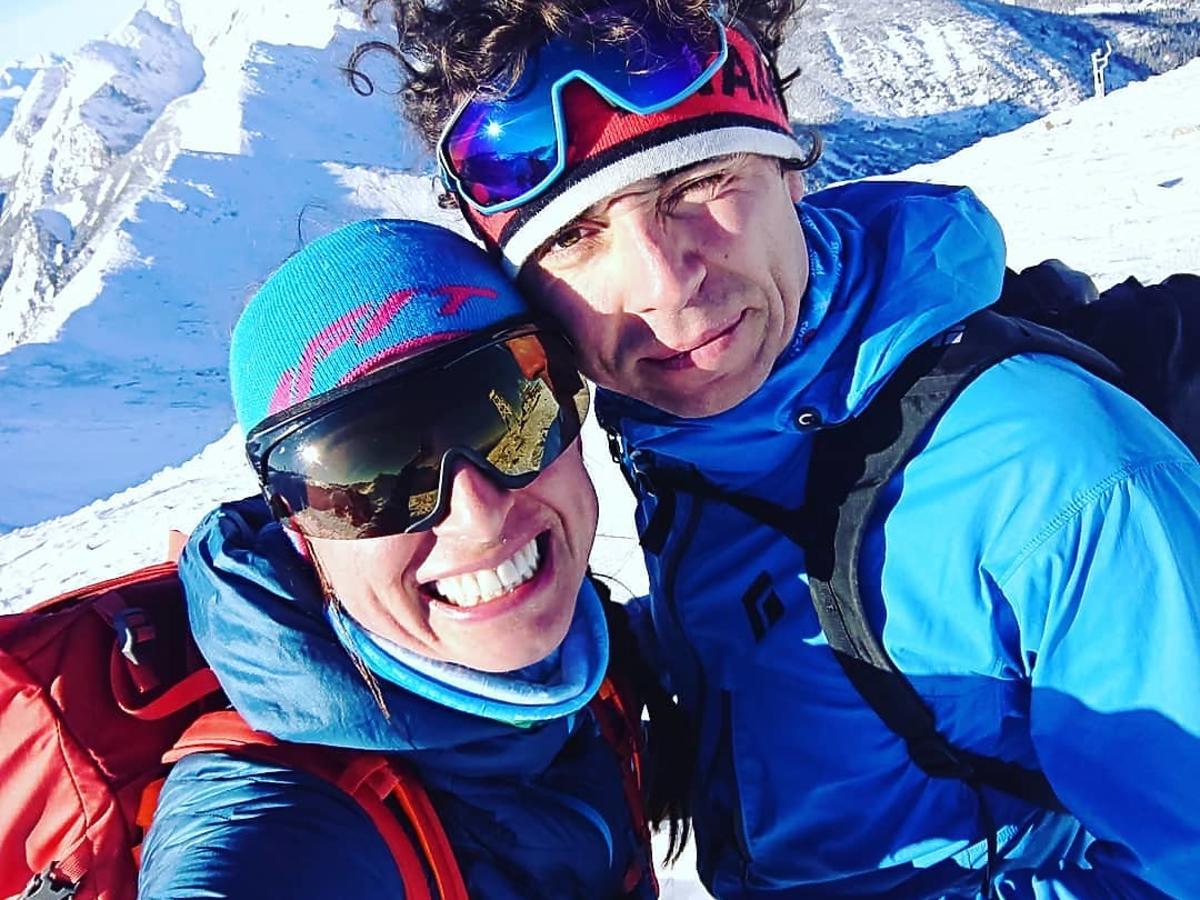 Justyna Kowalczyk i Kacper Tekieli w górach