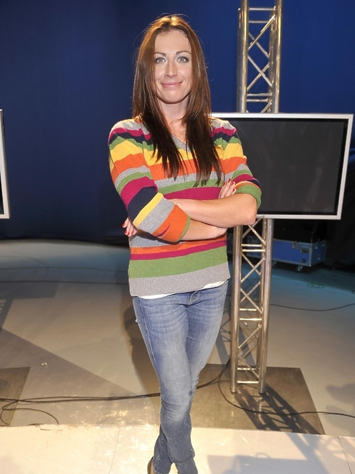 Justyna Kowalczyk przed 22. Zimowymi Igrzyskami Olimpijskimi w Soczi na konferencji