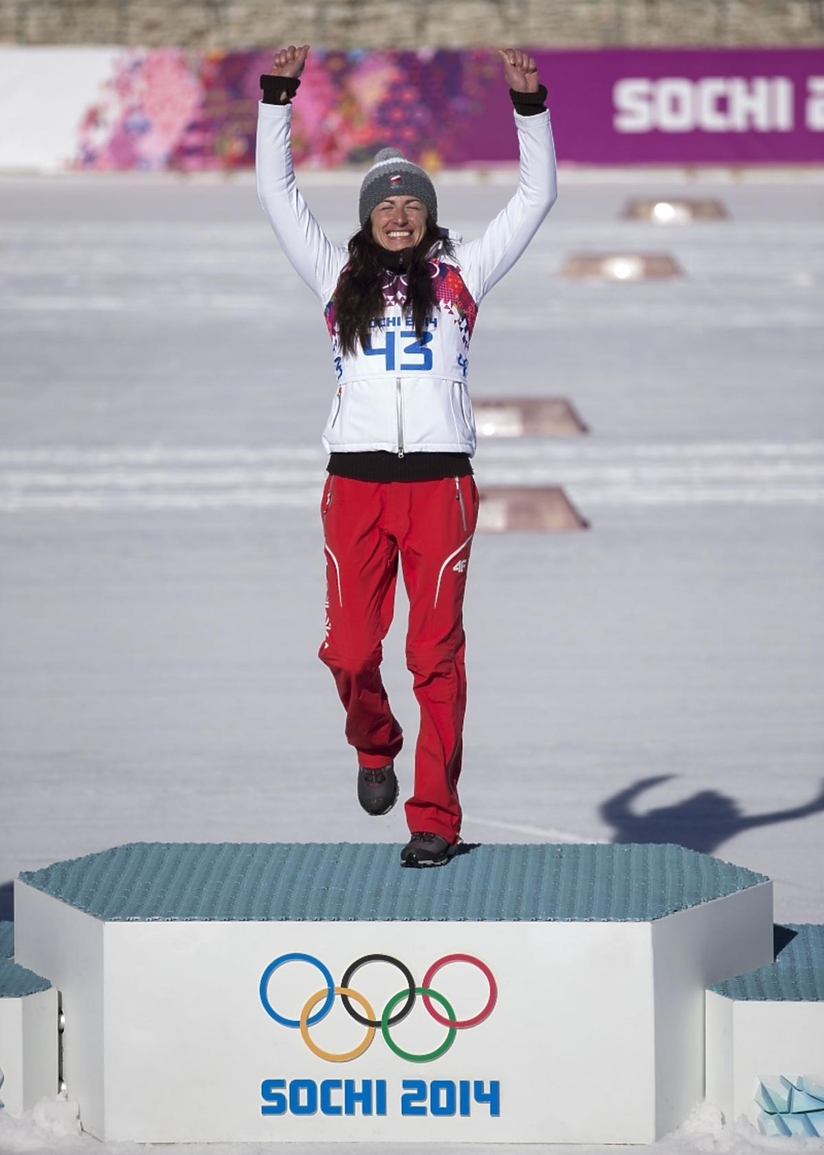 Justyna Kowalczyk w Soczi. Złoto Justyny Kowalczyk. Złoty medal Justyny Kowalczyk w Soczi