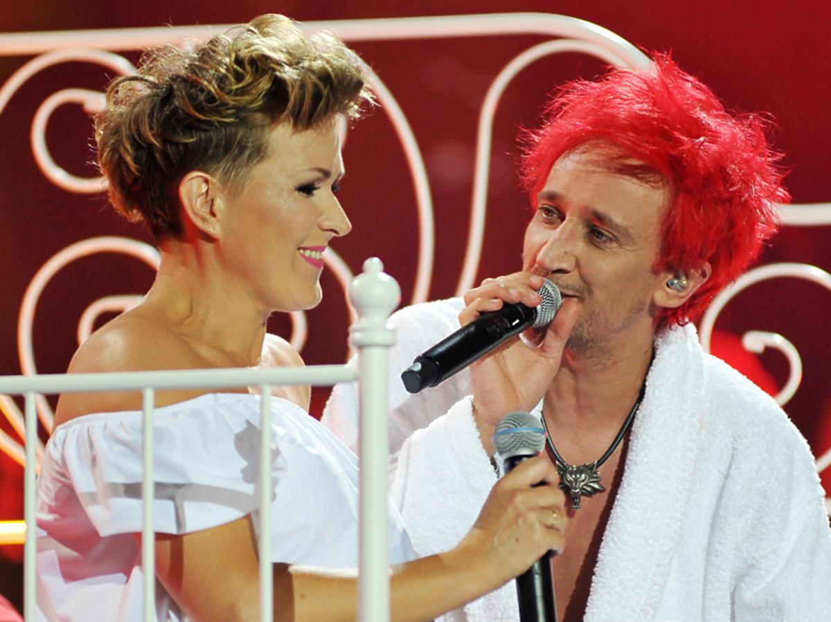Justyna Majowska i Michał Wiśniewski w nowej wersji Wypijmy za to