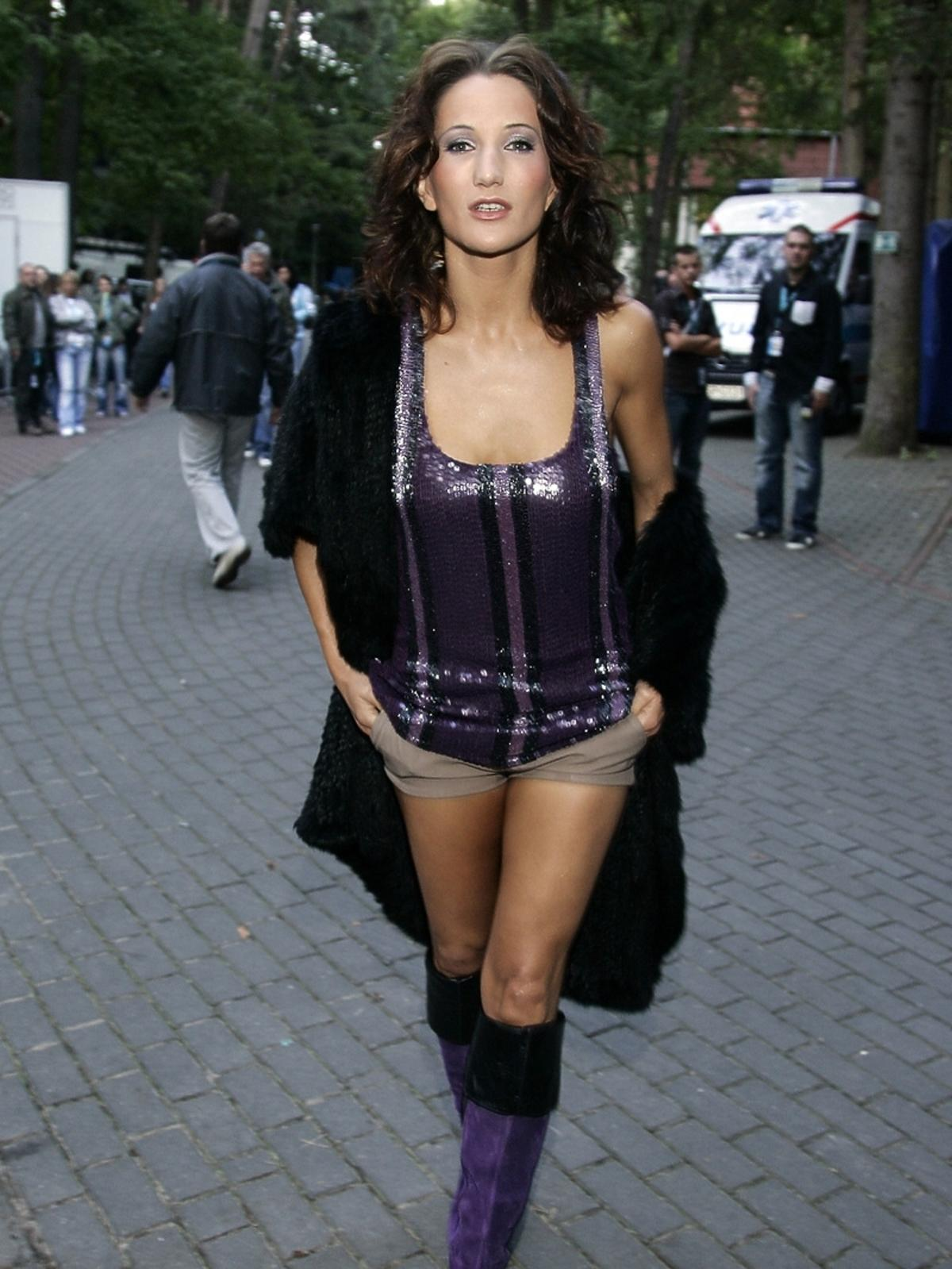 Justyna Steczkowska 10 lat temu