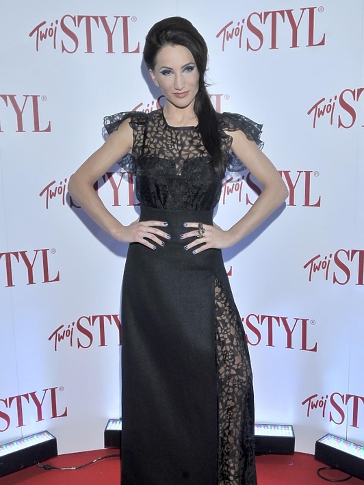 Justyna Steczkowska na gali Doskonałość Roku Twojego Stylu 2012